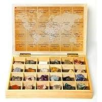 Caja minerales del mundo 24 unidades