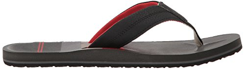 Reef Red Multicolor Hombre Prints Black Chanclas Bla STRI Stripes HT Bds para Red qTrqw1nR
