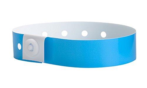 WristCo Plastic Wristbands Neon P1 05 product image