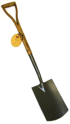 Flexrake Classic Digging Spade With D Shaped Handle, 40in ()