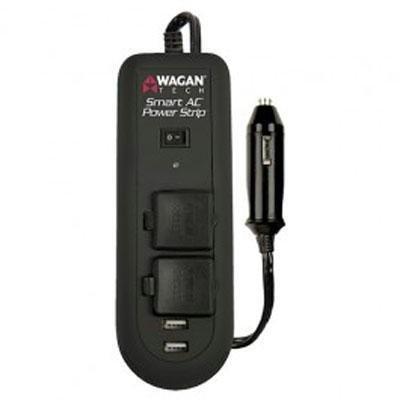 Wagan Tech 2621 120 Watt 120 Volt Smart AC Power Strip Inverter