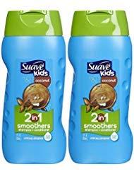 Coconut Suave Shampoo (Suave Kids Shampoo and Conditioner Coconut 12 Ounce (2 Pack))