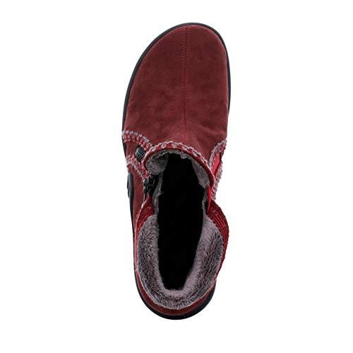 Red Hausschuh Maddy 401 Textilfutter Romika Combi Damen 78 aus Mikrovelours 18510 wtSAqXz