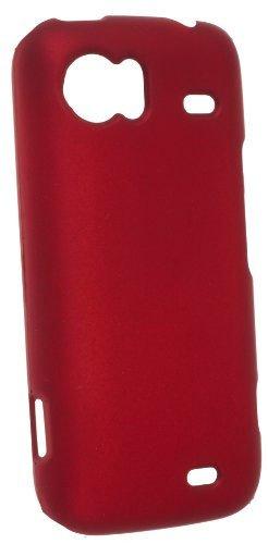 Horny Protectors Velvet Schutzhülle mit Oberfläche für HTC Mozart rot
