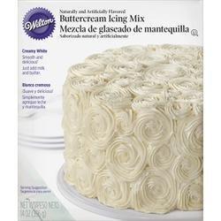 Wilton Bulk Buy Creamy White Buttercream Icing Mix 14 Ounces W112 (3-Pack)