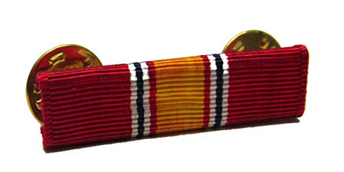 Military Surplus National Defense Service Ribbon with Single Bar Holder
