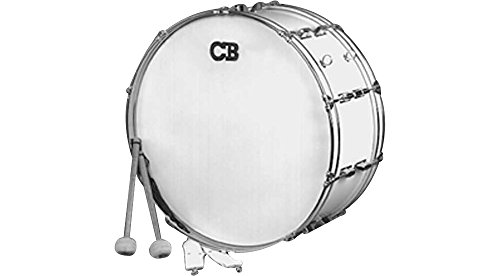 CB Drums IS3650W March and Band Drum (Bass Band Pipe)