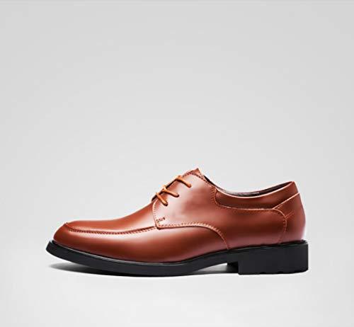 da scarpe da Estate cravatta da scarpe WFL affari in marea cintura scarpe abito traspirante uomo uomo rotonda Marrone testa uomo in Inghilterra casual pelle pelle xqEYnUR5wU