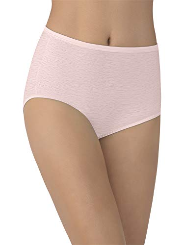 Vanity Fair Women's Underwear Illumination Brief Panty 13109, Quartz, X-Large/8