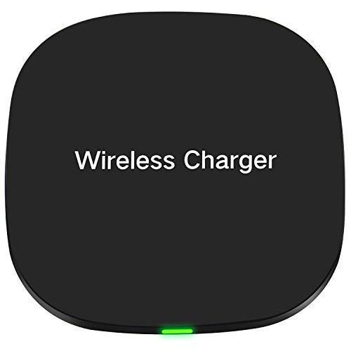 Fast Wireless Charger,SHiQiMA Qi Wireless Charger pad for iPhone X iPhone 8 Samsung Galaxy S8+ S8 Note8 S7 S7edge S6 Nexus 4/5/6 Nokia Lumia 1020 and All Qi-Enabled Devices