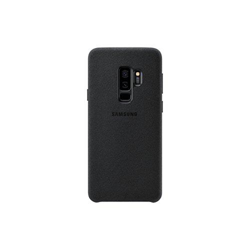 Official OEM Samsung Galaxy S9+ Alcantara Cover (Black)