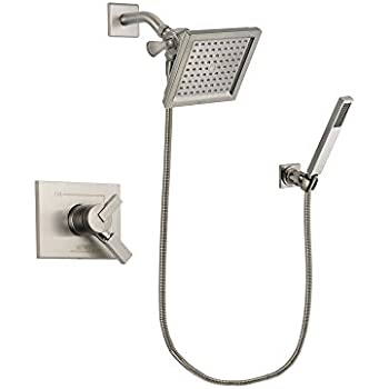 Delta Vero Stainless Steel Finish Dual Control Shower
