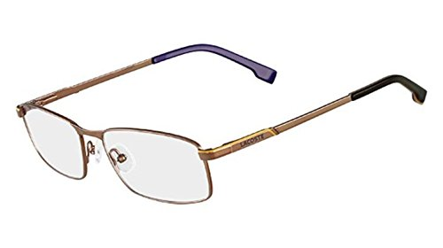 - Lacoste L2156 Eyeglasses 210 Brown 54MM