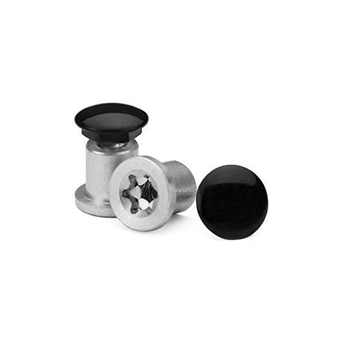 A-bolt Gloss - Revant Thru Bolt Set for Oakley Jawbone - Gloss Black