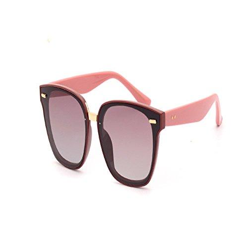 sol Naranja Gafas de Gafas de 6 caja de mujeres grande sol de polarizadas gafas y sol Shop hombres gafas sol para súper w4aCxq