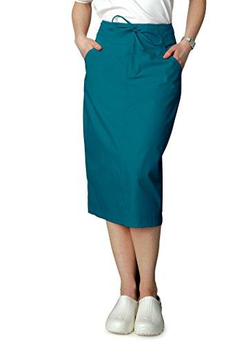 Adar Universal Mid-Calf Length Drawstring Skirt (Availabl...