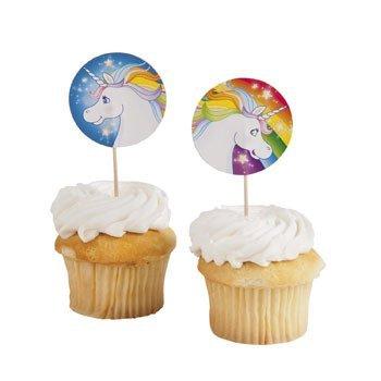 Unicorn Cupcake Cake Picks (Cupcake Pics)