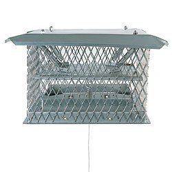 Bernard Dalsin Mfg. Co. 051212 12 Inch x 12 Inch Chim-a-lator Deluxe Damper 11 Inch High W/30 Cable