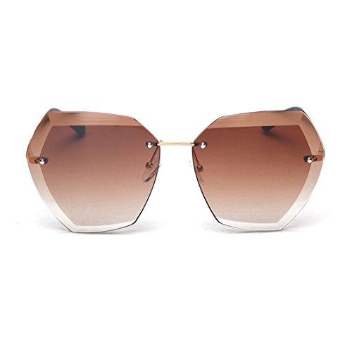modesoda Irregularly Square Cut Rimless Women - Miu Online Miu Buy Sunglasses