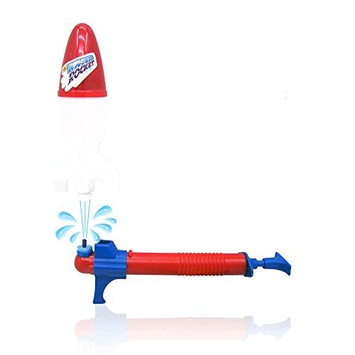 Fenleo Kids Launch Water Powered Space Rocket Children's summer beach toys Children Outdoor Toys