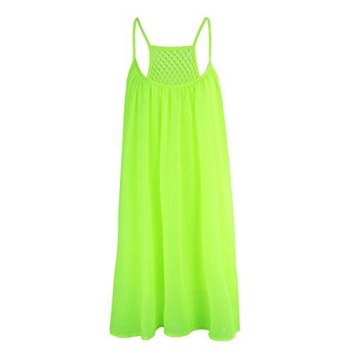 Shift Beach Sleeveless Dress Beach Tank Alive Dress Casual Womens Green Party Evening Summer zxvFAxS