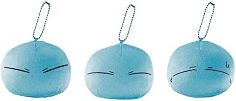 Ichiban Kuji That Time I Got Reincarnated as a Slime Demon King Awakening Edition E Award Ball Chain Plush Toy 3 Types Set