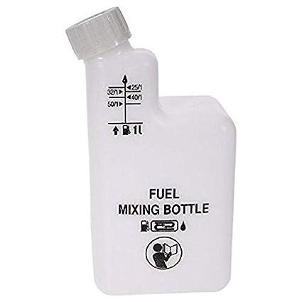 1L DOSIFICADOR DE Aceite Gasolina 1/25, 1/32, 1/40, 1/50 ...