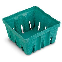 C29998N Pack of 50 Nasco Pulp Paper Berry Baskets