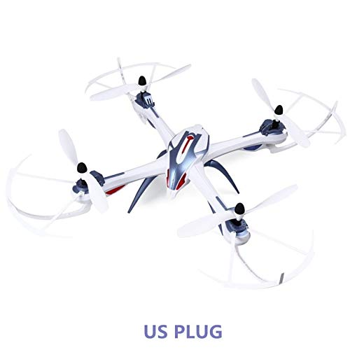 (FairOnly New Version Drone YiZhan Tarantula X6 RC Quadcopter Without Camera 2.4GHz RC Helicopter RTF VS H16 Blue US Plug)