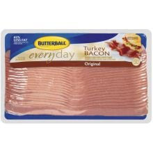 Butterball Original Everyday Turkey Bacon, 6 Pound - 2 per case. by Butterball