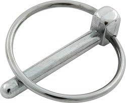 """Allstar Performance 3//16/"""" Flip-Over Steel Hood Pin Clip 4-pack Allstar"""