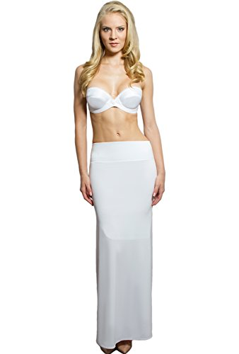 Slimming Shapewear Slip for Plus Size Wedding Dress, Women Evening Dresses, Beach Weddings - Low back. Waist Cincher Tummy Control Compression Lining, No Sheer Mother of the Bride Dress - Look Stunning in any Special Occasion Dress - Get Yours Now!