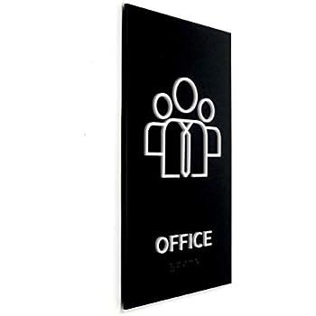 Amazon.com: Kubik Letras Oficina,Diseño Moderno Cartel ...