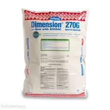 Dimension 270G granular herbicide for turf & landscape 50 lbs.
