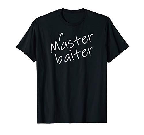 Funny Adult Humor Halloween Master Baiter Fishing T Shirt