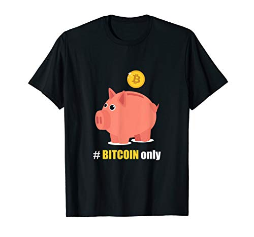 Bitcoin Holder - Piggy Bank For Cryptocurrencies T-Shirt (Best Bank For Cryptocurrency)