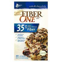 Fiber One Chewy Bars Oats & Chocolate 36- 1.4 Oz Bars by Fiber One Chewy Bars [Foods] (Oats Fiber One)