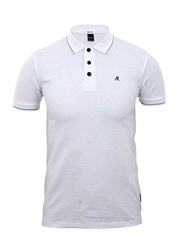 Replay Herren Poloshirt weiß optical white Medium