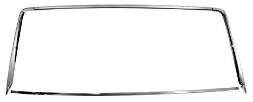 1967-68 Mustang Rear Window Molding, 3 pieces (Coupe)