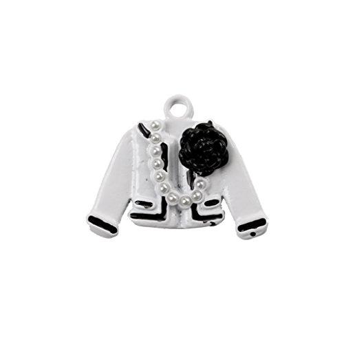 MonkeyJack 20Pcs DIY Jewelry Coat Shape Pearl Knot Lady Accessory Findings Home Gifts by MonkeyJack (Image #9)