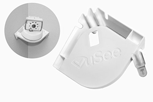 VuSee - The Universal Baby Monitor Shelf (Corner) - Compatible with Most Baby Monitors - Peel and Stick Installation - Use Shelf Kit
