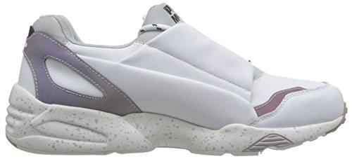 Sneaker Alexander McQueen PUMA Lace Up en piel blanca Blanco