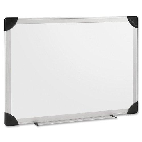 Lorell Corner - Lorell 55654 Dry-Erase Board, 8-Ft x4-Ft, Aluminum Frame/White