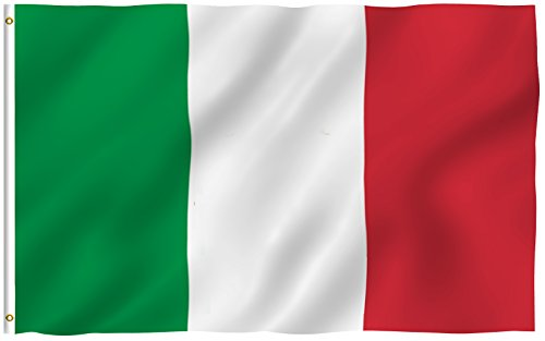 ANLEY  3x5 Foot Italy Flag - Vivid Color and UV Fade Resista