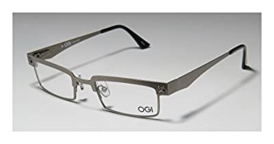 Ogi 3501 Mens/Womens Vision Care Inexpensive Designer Full-rim Flexible Hinges Eyeglasses/Spectacles