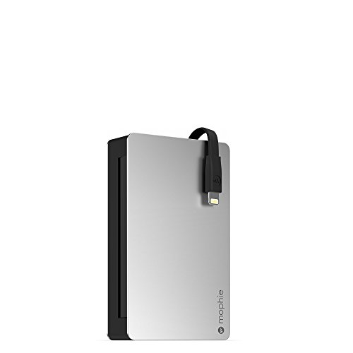 mophie Powerstation Plus 8X with Lightning Connector (12,000mAh) - Black/Black (Certified Refurbished)