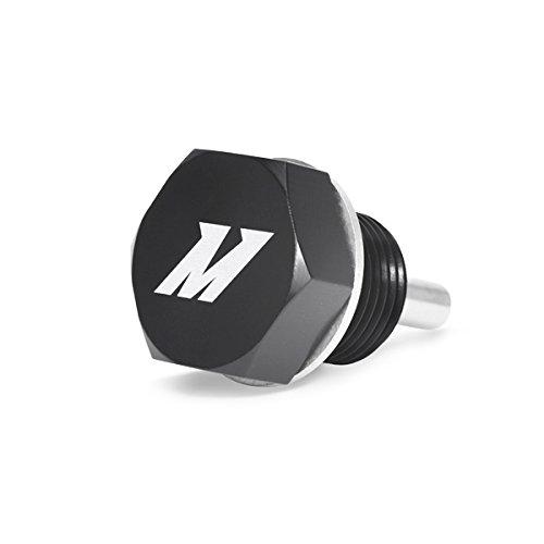Mishimoto MMODP-1815B Black M18 x 1.5 Magnetic Oil Drain Plug Billet Oil Plug