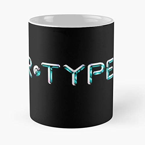 Rtype Spaceship Arcadian Shoot Em Up - Coffee Mugs Unique Ceramic Novelty Cup Best Gift