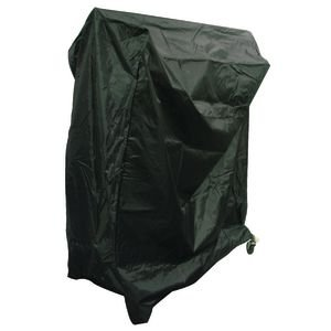Garment Rack Cover with Lock, Black