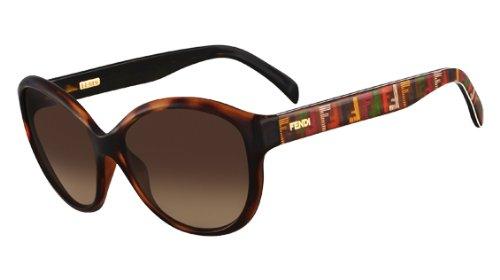 FENDI FS5286 Sunglasses Havana (238) F 5286 238 Made in Italy - Sunglasses 2012 Fendi